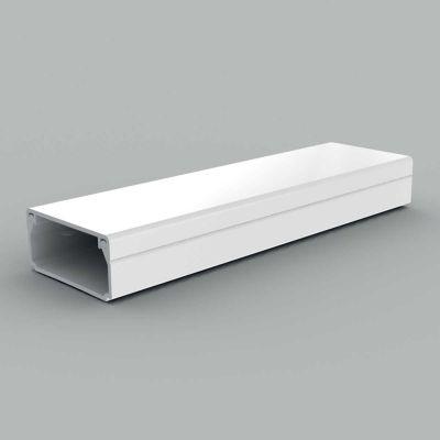 Canal cablu PVC cu capac si margini drepte, 32x15, alb