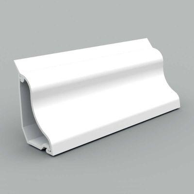Canal cablu PVC de colt, 3D, 35x25, alb