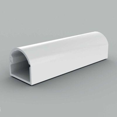 Canal cablu PVC cu capac lateral, 15x12, alb