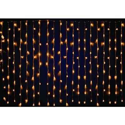 Plasa luminoasa cu 100 led-uri alb cald din care 10 led-uri alb cald cu intermitenta