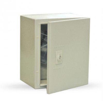 Tablou metalic cu contrapanou IP65 300X300X140 SKY128