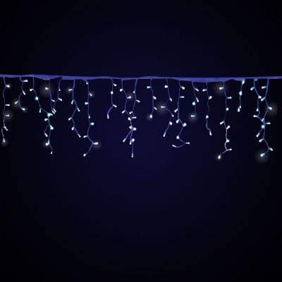 Turturi luminosi 4X0,9 M cu 180 led-uri alb cald  cablu verde